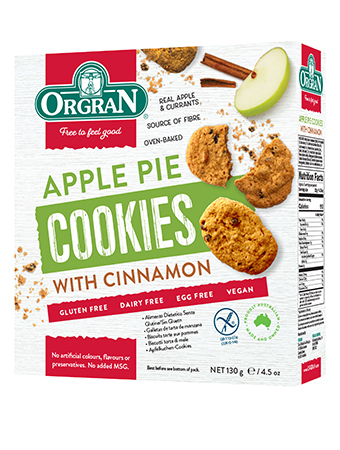 Orgran Apple Pie Cookies